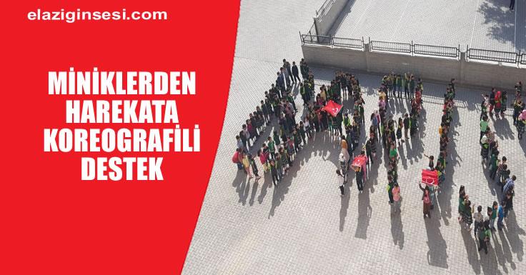 'BARIŞ PINARI HAREKATI'NA DESTEK İÇİN 750 ÖĞRENCİ İLE KOREOGRAFİ HAZIRLANDI