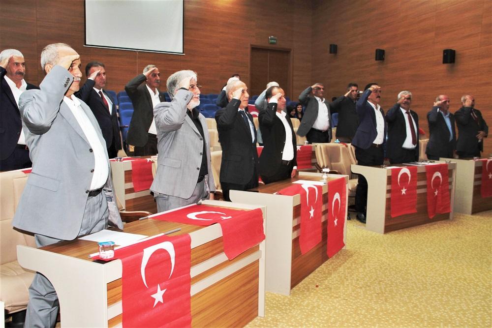 İL GENEL MECLİSİ'NDEN MEHMETÇİĞE DESTEK