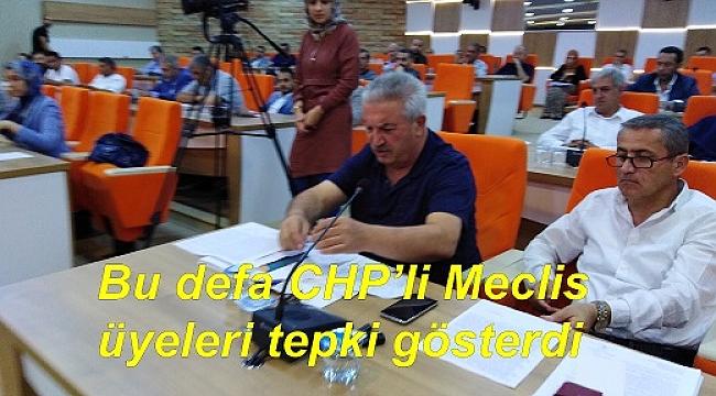BELEDİYE MECLİSİNDE 'ESENTEPE' TARTIŞMASI