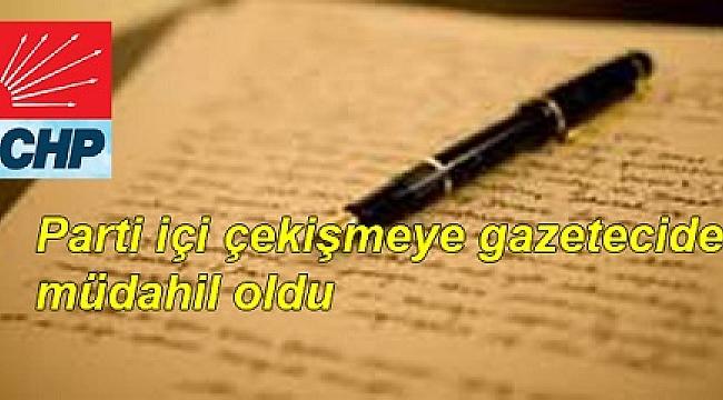 CHP'Yİ KARIŞTIRACAK MEKTUP…!
