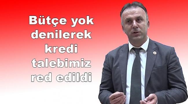 """İPEKYOLU PROJESİNE """"BÜTÇE VAR"""", HİZMETE GELİNCE """"BÜTÇE YOK"""""""