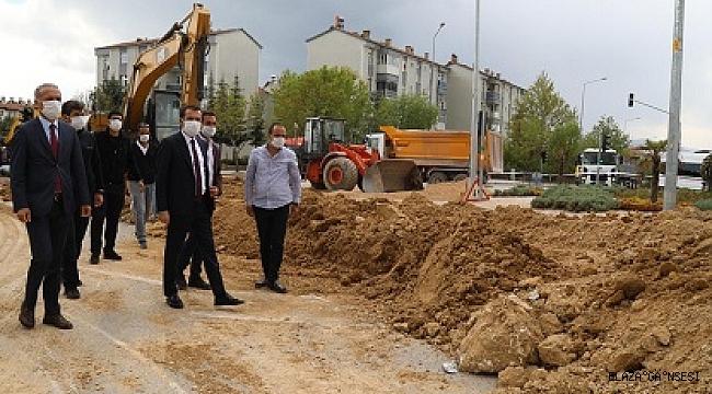 """Elazığ'a kaliteli içme suyunu ulaştırmış olacağız"""""""