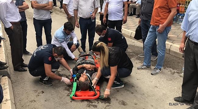 Otomobilin çarptığı, yaşlı adam yaralandı