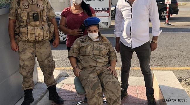 Rojda'nın asker üniforması giyme hayalini Mehmetçik gerçekleştirdi