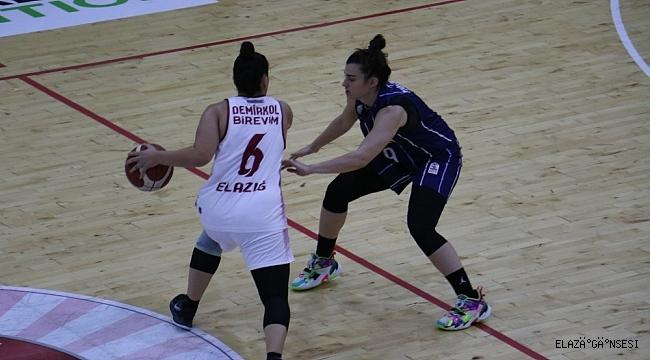 Kadınlar Basketbol Süper Ligi: B.Elazığ İl Özel İdare: 70 - Hatay Büyükşehir Belediyespor: 81