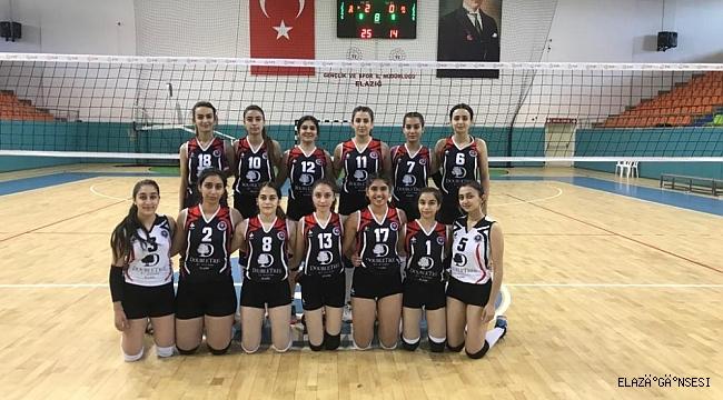 Voleybol 2. Lig: Elazığ Voleybol: 3 - 73 Şırnak Belediye: 0