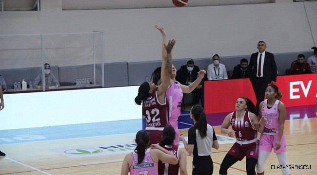 Kadınlar Basketbol Süper Ligi: Elazığ İl Özel İdare: 89 - Kayseri Basketbol: 76