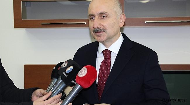 """Bakan Karaismailoğlu: """"Yatırımlar artarak devam edecek"""""""