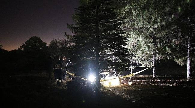 Elazığ'da ormanlık alanda erkek cesedi bulundu