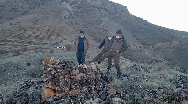 Elazığ'da kaçak avda kullanılan meterisler yıkıldı