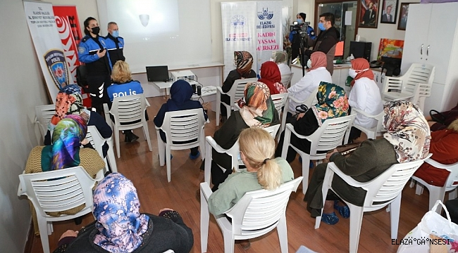 """Elazığ'da """"En iyi Narkotik Polisi Anne"""" projesi"""