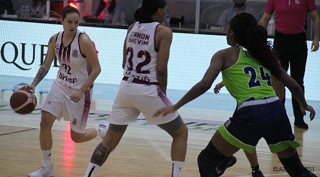 Kadınlar Basketbol Süper Ligi: Elazığ İl Özel İdare: 69 - Nesibe Aydın: 64