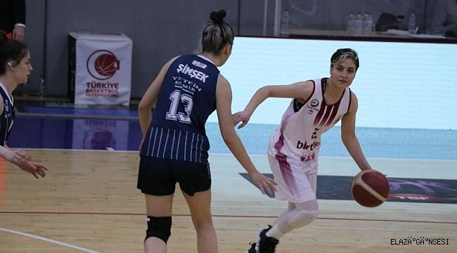 Kadınlar Basketbol Süper Ligi: Elazığ İl Özel İdare: 83 - Samsun Canik Belediye: 34