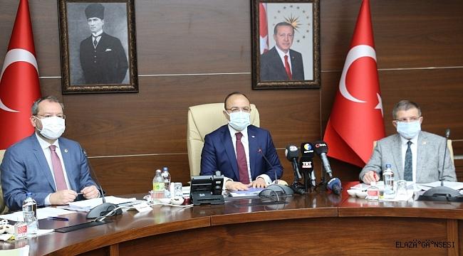TBMM Deprem Araştırma Komisyonu Elazığ'da