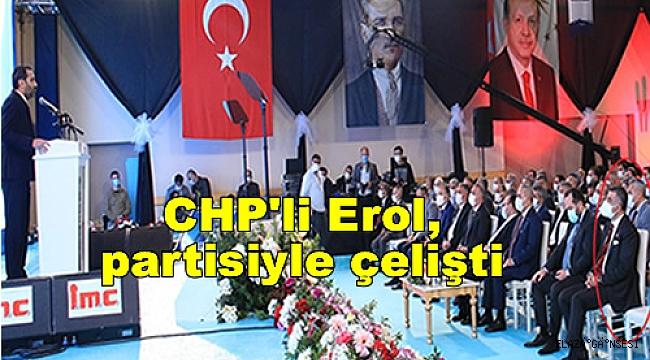 """CHP'nin eleştirdiği """"Lebaleb"""" toplantısına Milletvekili Erol'da katıldı"""
