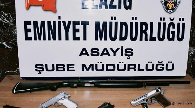 Elazığ'da 34 kişi tutuklandı