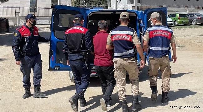 Elazığ'da FETÖ'den 6 yıl hapis cezası alan öğretmen yakalanıp, tutuklandı