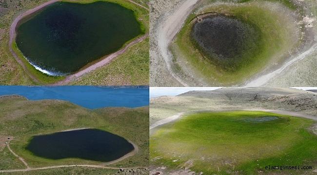 Elazığ'ın Bervi gölü kurudu