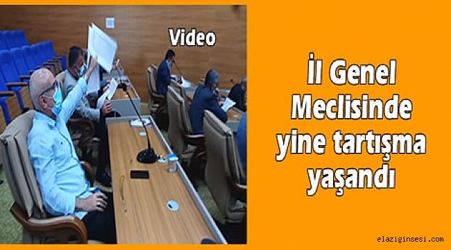 """İl Genel Meclisinde """"Abartmaya gerek yok"""" tartışması…"""