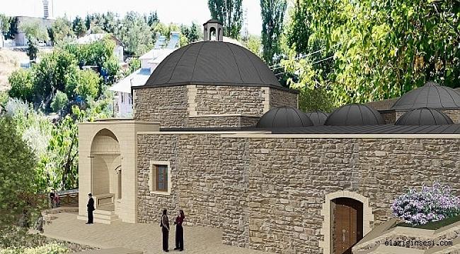 Hoca Hasan Hamamı'nda restorasyonu başladı