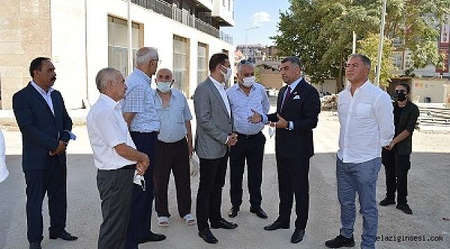 CHP Heyeti Elazığ'da incelemeler yaptı