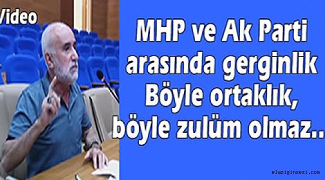 MHP'den, Ak Parti'ye böyle ittifak olmaz…!