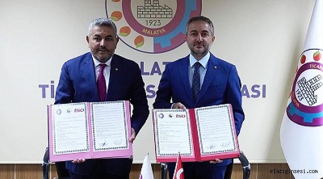 """Elazığ Ticaret ve Sanayi Odası ile Malatya TSO arasında """"Kardeş Oda Protokolü"""" imzalandı…"""