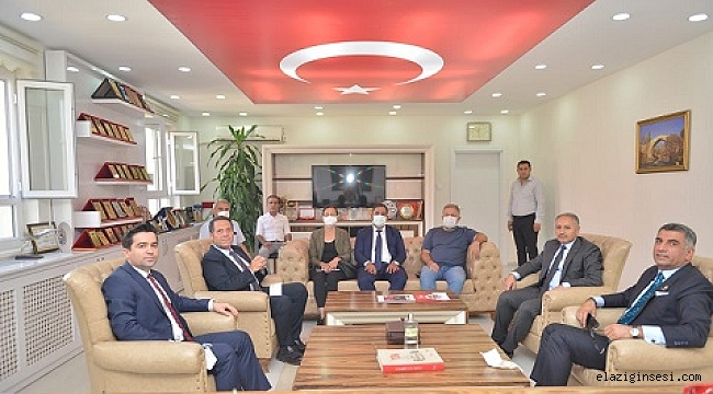 Okul için İBB'si heyeti Elazığ'da incelemelerde bulundu