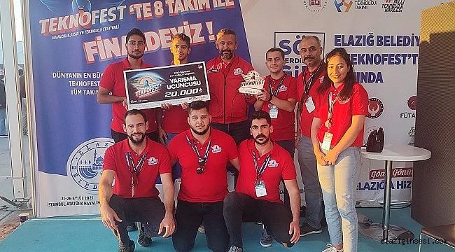 Fırat Üniversitesi öğrencilerinin TEKNOFEST başarısı