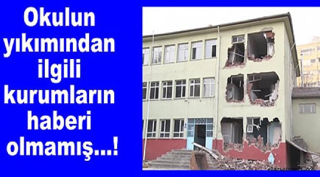 İhalesiz okulun yıkım emrini kim verdi ?