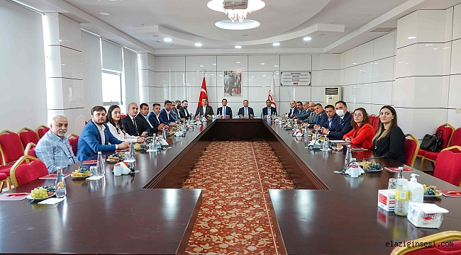Kardeş Çorlu TSO heyeti Elazığ'a geldi