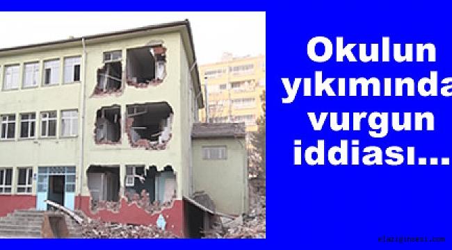 Mehmet Akif Ersoy Lisesinin yıkım geliri kimin cebine gitti...