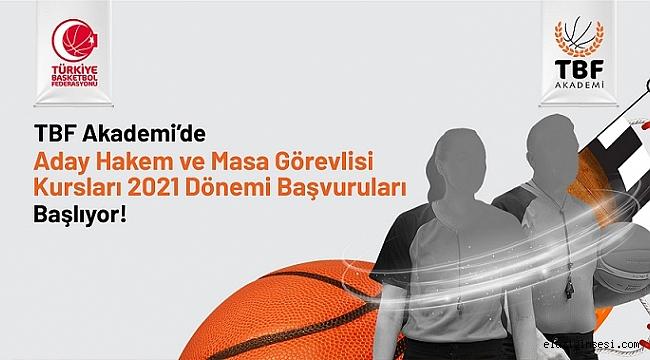 Türkiye Basketbol Federasyonu İllerde Aday Saha hakemi ile Masa görevlisi hakem adayları kursu açıyor