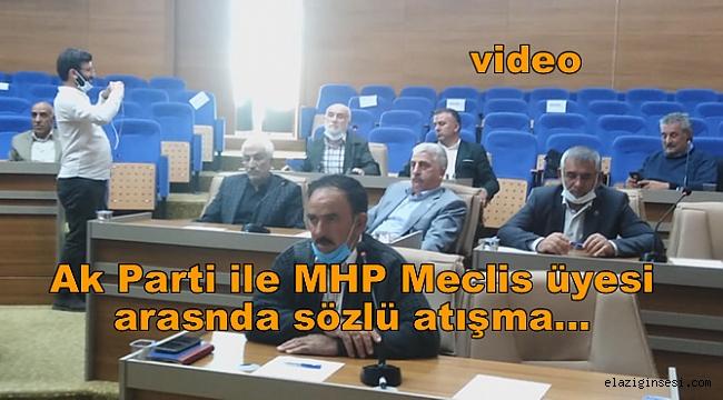 Elazığ İl Genel Meclis toplantısında polemik tartışması yaşandı