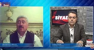 Deva Partisi Disiplin Kurulu Başkanı Av. Akbulut, Elazığ'dan partimize yoğun ilgi var